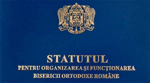 Statutul de organizare al BOR 2008 cu amendamentele din 2011