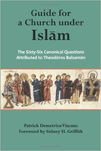 Patrick Demetrios Viscuso, Guide for a Church under Islam: The Sixty-Six Canonical Questions Attributed to Theodoros Balsamon, Holy Cross Orthodox Press (2014)